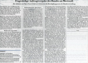 Article in NZZ