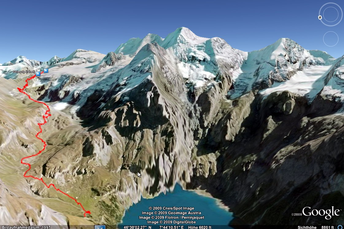 Virtual Re Walk Of The Bernese Alps Up To Bl 252 Emlisalph 252 Tte