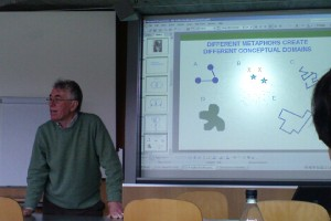 Gareth Morgan in his seminar at University of St. Gallen