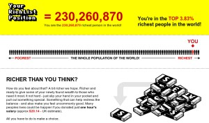How rich are you? Global Rich List