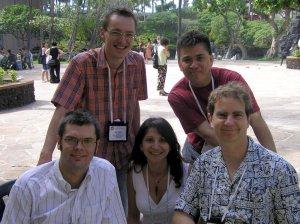 Sebastian, me, Hala, Ruben and Joel