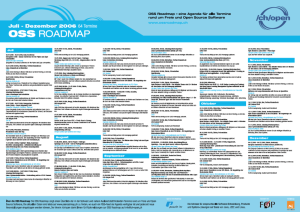 The brand new OSS Roadmap poster