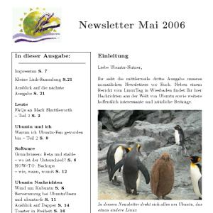 Screenshot of the new Ubuntu Magazine